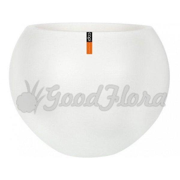 Кашпо CAPI Lux Ваза-шар 90x64 см Белое