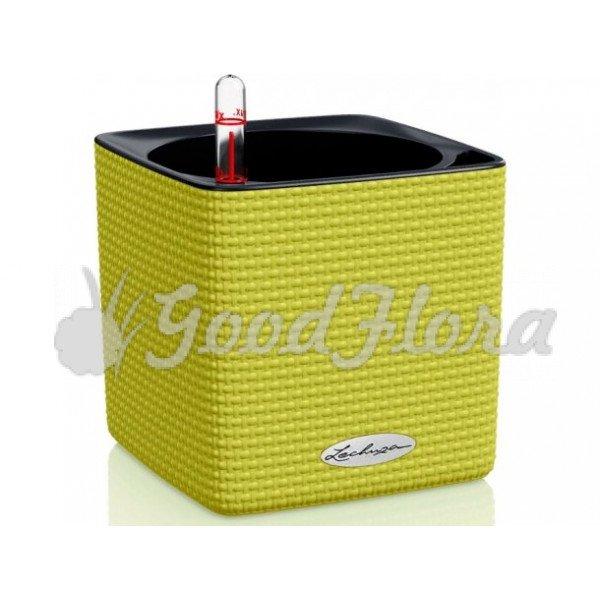 Кашпо Lechuza Cube Color 14 с системой автополива